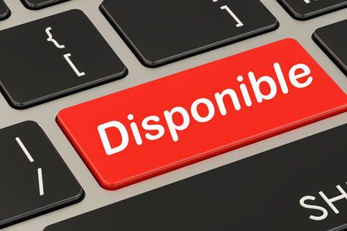 Disponibilidad Inmediata